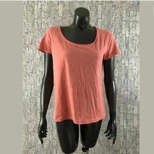 BP Nordstrom Womens Small Short Sleeve Top Pink